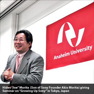 Hideo Morita Growing Up Sony Seminar